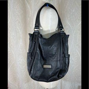 - Franco Sarto Black Shoulder Bag